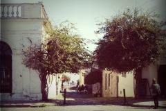 calles con adoquines