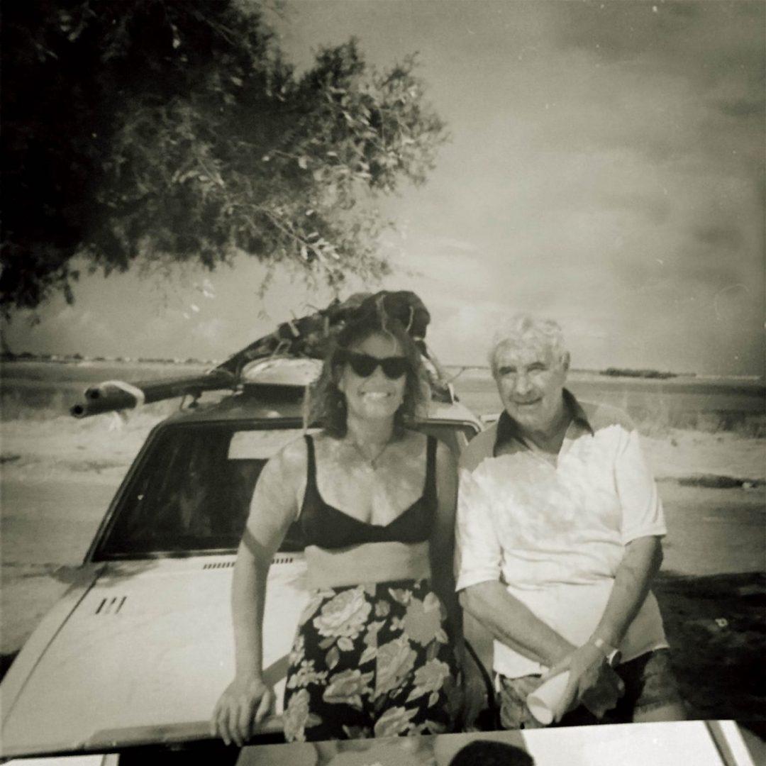 Mi padre Ramón, el que contagió a la familia el amor al mar y a la vela.