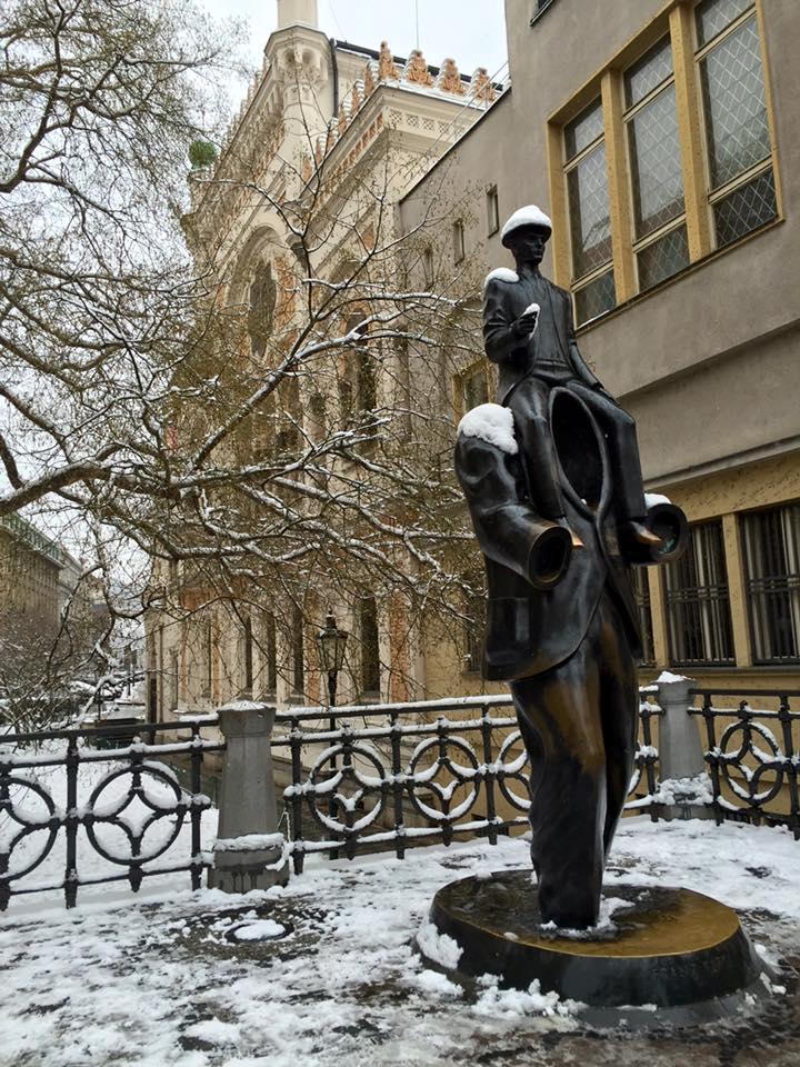 estatua kafka