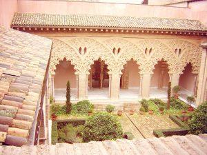6-patio interior de la Aljafería- Zaragoza, 2008_X