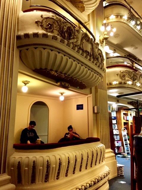 Libreria Ateneo Grand Splendid Buenos Aires