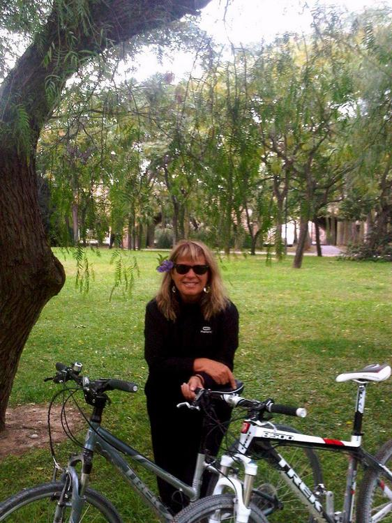 Ciclismo en el Cauce del Río Turia