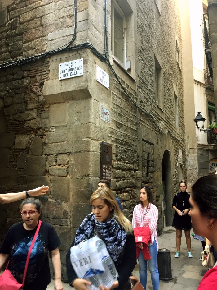 calle de los PRESTAMISTAS JUDIOS