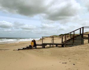 playa clara y yo_Fotor