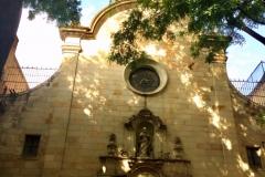 Iglesia de san felipe neri- Gaudi era devoto de este santo